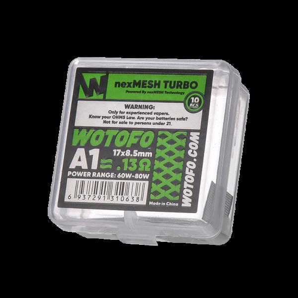 Wotofo - Nex Drahtgeflecht Turbo A1 0,13 Ohm
