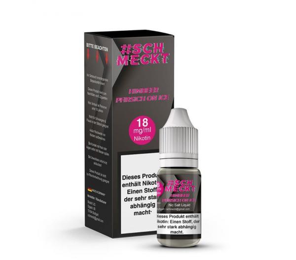 #Schmeckt - Himbeer Pfirsich on ICE Nikotinsalz