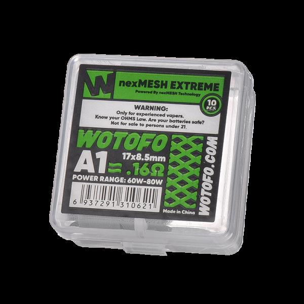 Wotofo - Nex Drahtgeflecht Extreme A1 0,16 Ohm