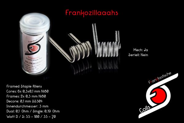 Franktastische - Frankozilla V1 Framed Staple Alien Dual Set