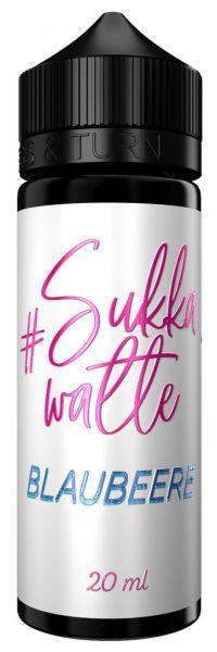 #Sukka Watte - Blaubeere 20ml Aroma (2021 konform)