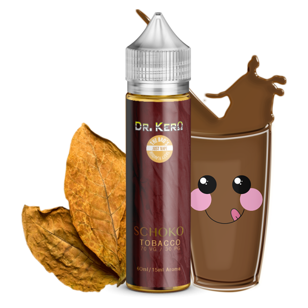 Dr. Kero X The Bro´s - Schoko Tobacco 10ml Mix´n Vape Aroma