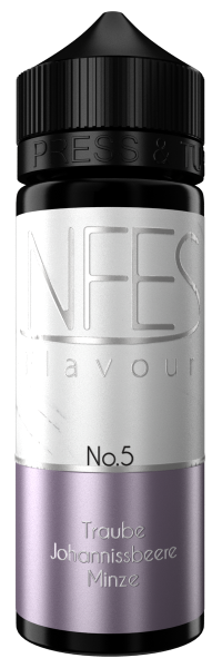 NFES Flavour - No.5 Traube Johannisbeere Minze Aroma