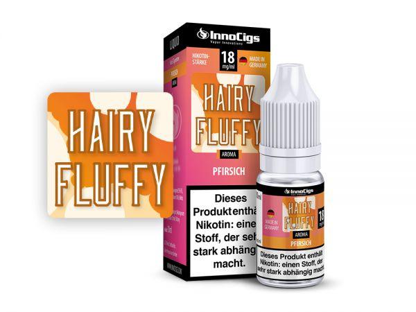 InnoCigs Liquid Hairy Fluffy Pfirsich 10ml