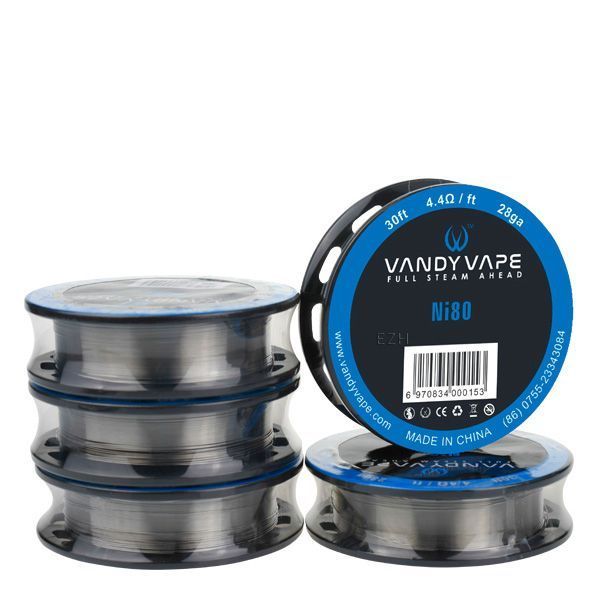 Vandy Vape Ni80 28ga 4.4Ohm 30ft. Wickeldraht