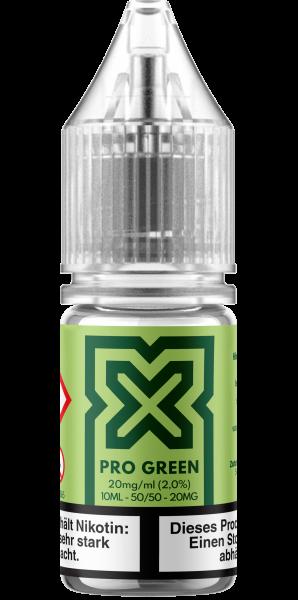 Podsalt X - Pro Green 10ml Nikotinsalz Liquid 20mg