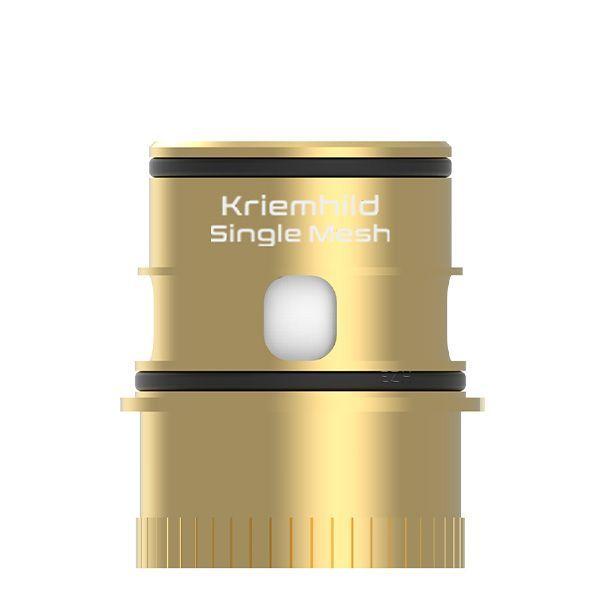 Vapefly Kriemhild 3x Single Coil Verdampferkopf gold