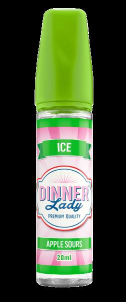Dinner Lady - Apple Sours Ice 20ml Aroma (2021 konform)