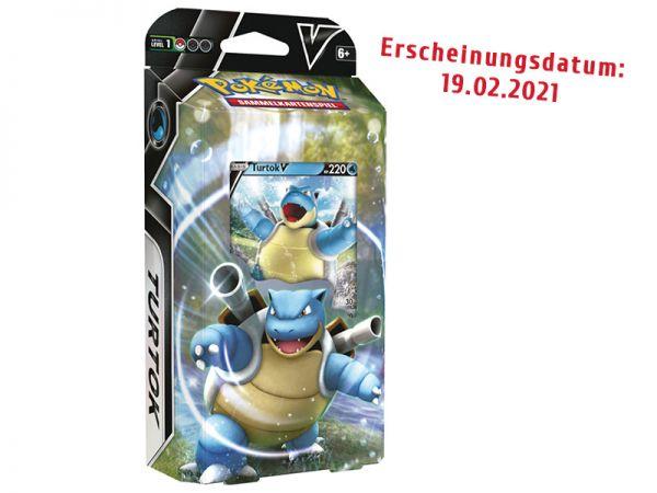 Pokemon V Battle Deck Turtok deutsch