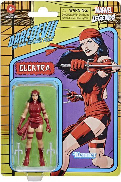 Hasbro Marvel Legends Retro 375 Collection Actionfigur - ELEKTRA