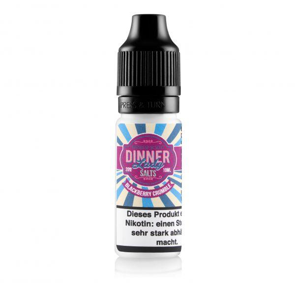 Dinner Lady - Salt Nic - Blackberry Crumble 10ml 20mg/ml