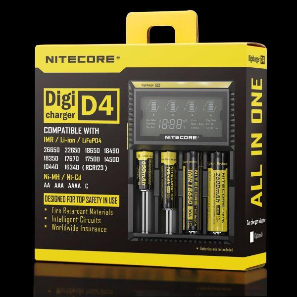 Nitecore Digicharger D4 - Ladestation 4-Fach