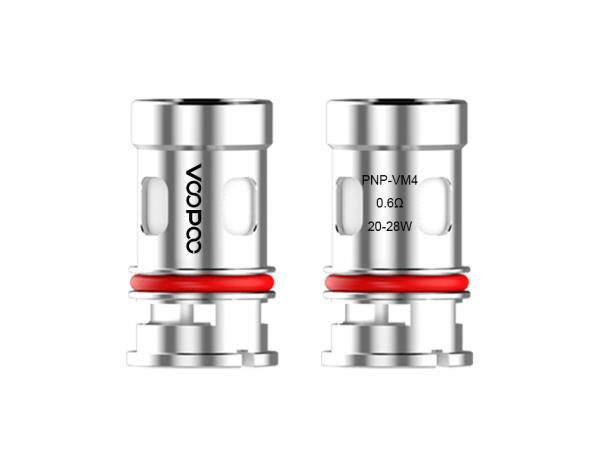 Voopoo PnP-VM4 0,6 Ohm Coils (Drag X / Argus GT)