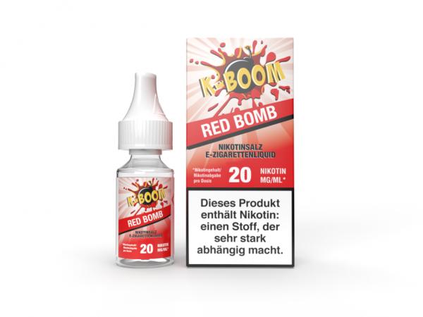 K-Boom - Red Bomb 10ml Nikotinsalz