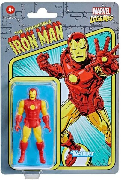 Hasbro Marvel Legends Retro 375 Collection Actionfigur - IRON MAN