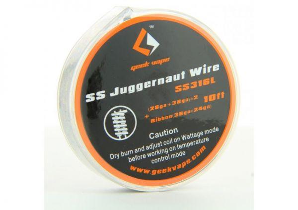 Geek Vape - SS Juggernaut Wire SS316L