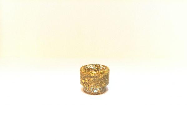 Drip Tip Epoxidharz Gold Silber V2 810er