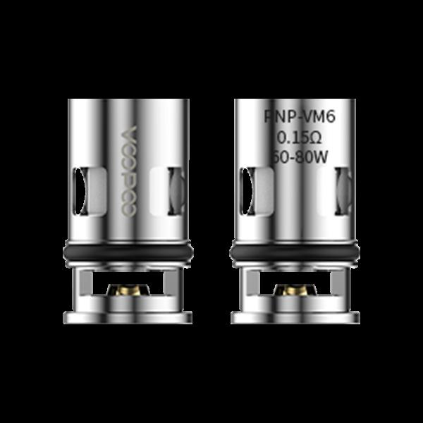Voopoo PnP-VM6 0,15 Ohm Coils (Drag X / Argus GT)
