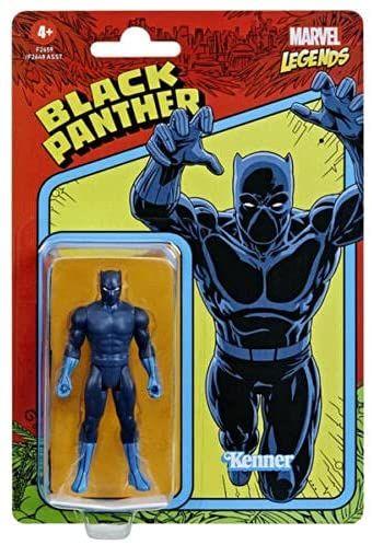 Hasbro Marvel Legends Retro 375 Collection Actionfigur - BLACK PANTHER