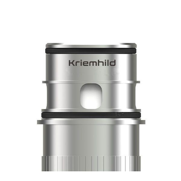 Vapefly Kriemhild 3x Dual Coils Verdampferkopf silber