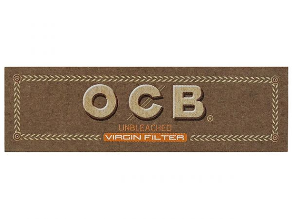 OCB - Unbleched Virgin Filter Tips