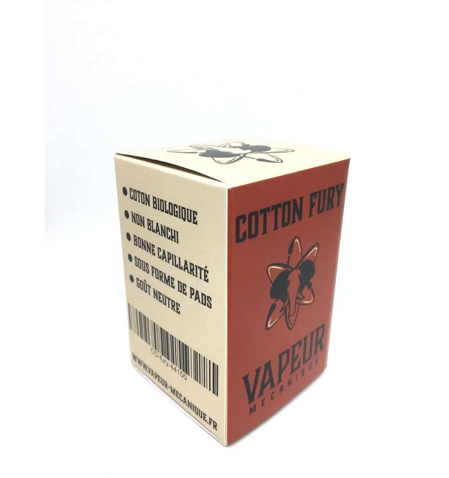 Cotton Fury Vapeur Mecanique Watte Pads Premium Bacon V2 For Vape 1 Pad Liquids Hardware Aromen