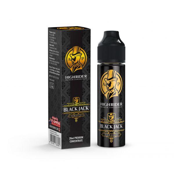 Highrider - Black Jack 20ml Aroma