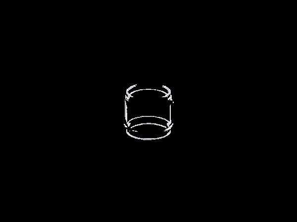 Uwell - Nunchaku 2 Bubble 5ml Ersatzglas