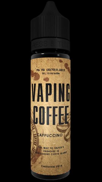 VoVan - Vaping Coffee Cappuccino Plus Liquid (2021 konform)