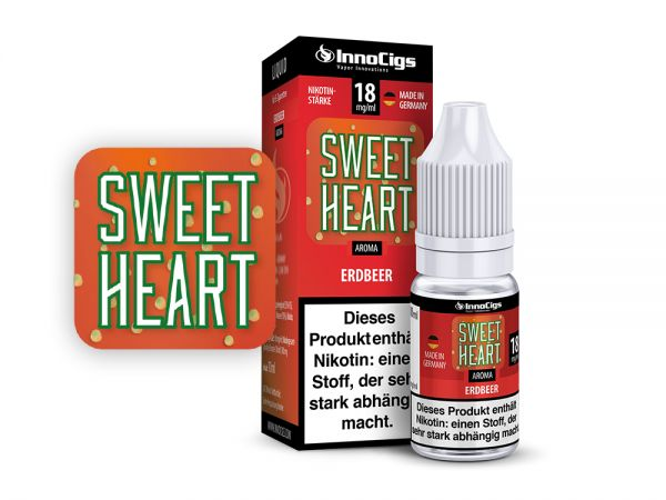 InnoCigs Liquid Sweet Heart Erdbeere 10ml