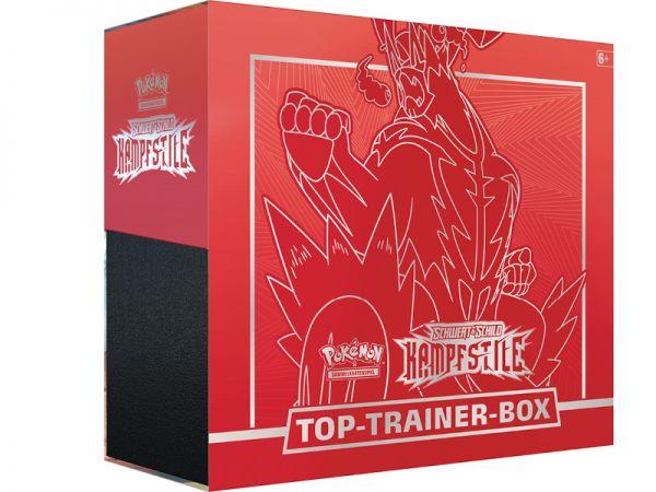 Pokemon Top Trainer Box Schwert & Schild deutsch Nintendo 45265 Zubehör - ROT
