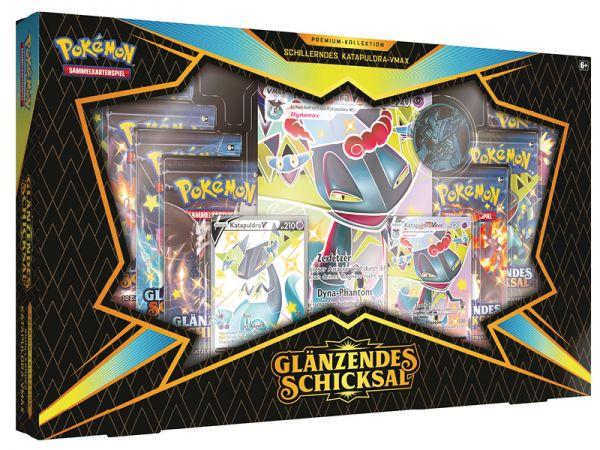 Pokemon Schwert & Schild Premium Kollektion Katapuldra Box deutsch