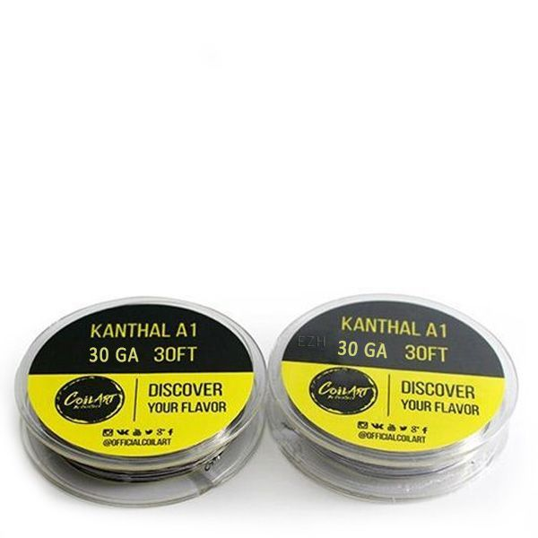 CoilArt - Kanthal A1 W13 - 30GA 30FT Wickeldraht