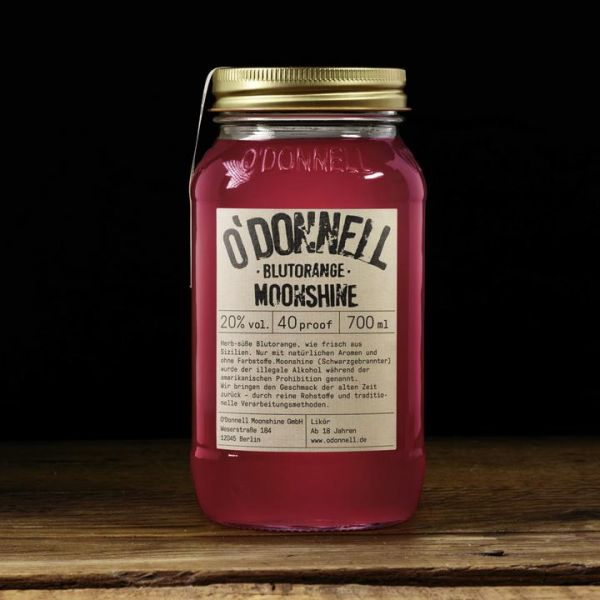 O´Donnell Moonshine - Blutorange Likör 700ml