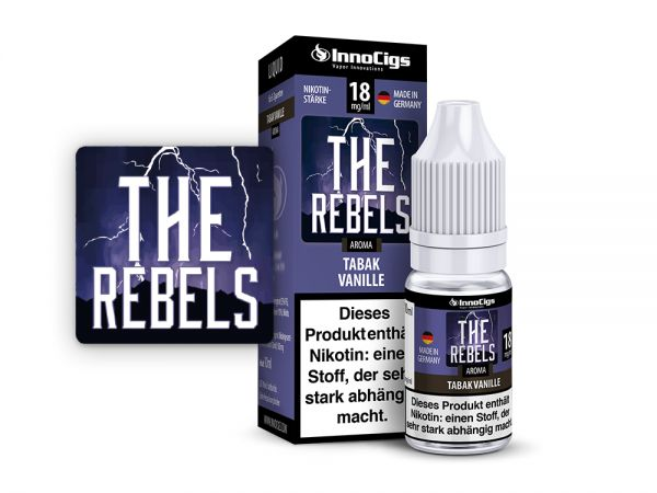 InnoCigs Liquid The Rebels Tabak Vanille 10ml
