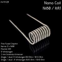 Franktastische - Nano Coil Ni80 Dualset