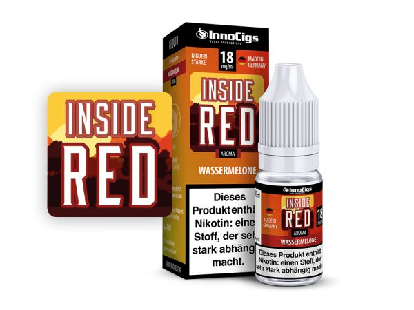 InnoCigs Liquid Inside Red Wassermelone 10ml