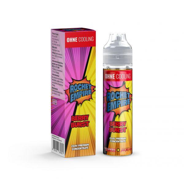 Rocket Empire - Berry Burst No Ice Aroma (2021 konform)