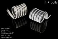 Franktastische - A+ Coil KD V2A Dualset