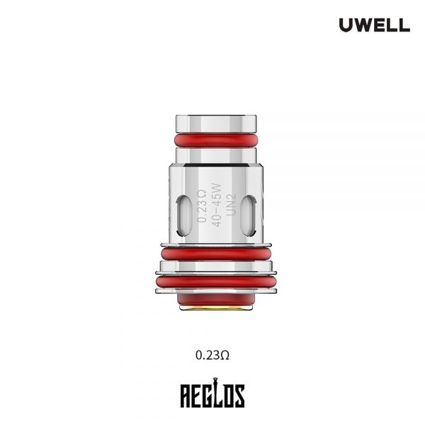 Uwell - Aeglos 0,23 Ohm UN2 Siebverdampferkopf