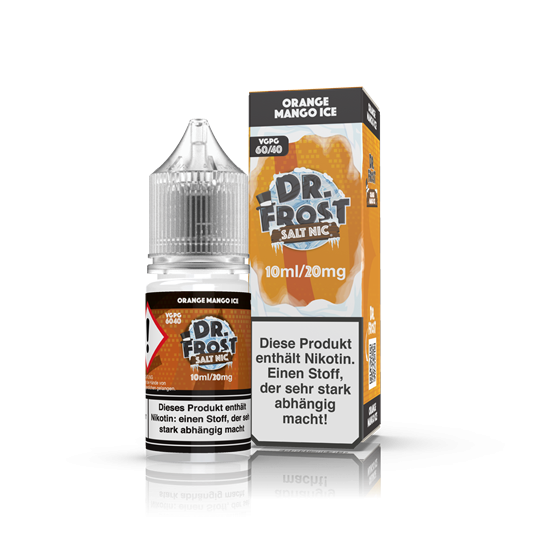 Dr. Frost - Nic Salt - Orange Mango Ice 10ml 20mg